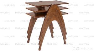 میز عسلی سه تکه رافائل