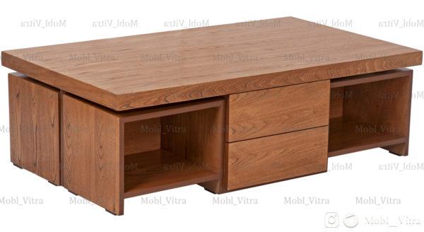 عکس میز جلو مبلی چهار عسلی آلفا کد 2