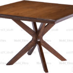 میز نهارخوری مربع مالزی مدل جئو