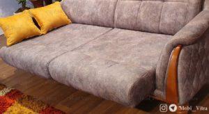 قیمت خرید مبل تختخواب شو سه نفره کلمبیا کد 1
