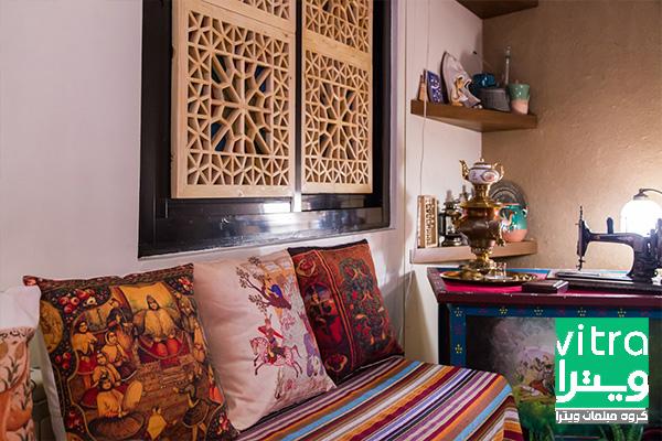 چیدمان منزل ایرانی کوچک