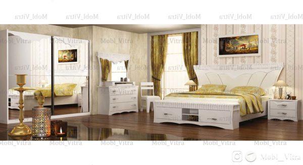 عکس سرویس خواب تیتوس رنگ سفید