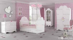 قیمت خرید سرویس خواب نوزاد ویترا مدل 6104