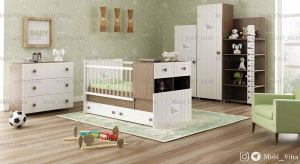 قیمت خرید سرویس خواب نوزاد ویترا مدل 6108