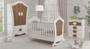 عکس سرویس خواب نوزاد ویترا مدل 6110