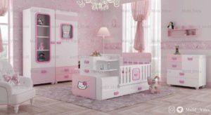قیمت خرید سرویس خواب نوزاد ویترا مدل 6114