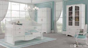 قیمت خرید سرویس خواب نوزاد ویترا مدل 6118