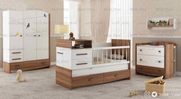 عکس سرویس خواب نوزاد ویترا مدل 6119