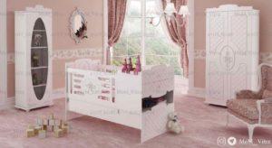 قیمت خرید سرویس خواب نوزاد ویترا مدل 6131