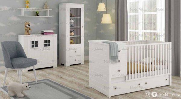 قیمت خرید سرویس خواب نوزاد ویترا مدل 6132