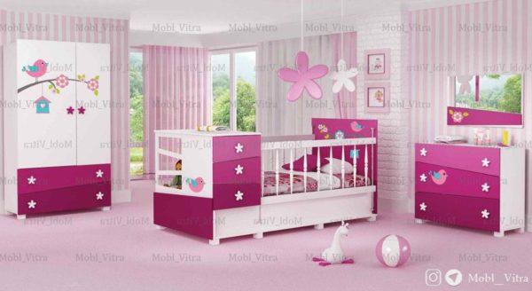 قیمت خرید سرویس خواب نوزاد ویترا مدل 6137