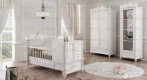 قیمت خرید سرویس خواب نوزاد ویترا مدل 6140