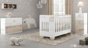 قیمت خرید سرویس خواب نوزاد ویترا مدل 6143