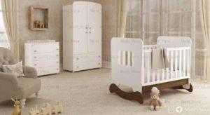 سرویس خواب نوزاد ویترا مدل 6144