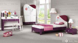 قیمت خرید سرویس خواب نوجوان ویترا مدل 6323